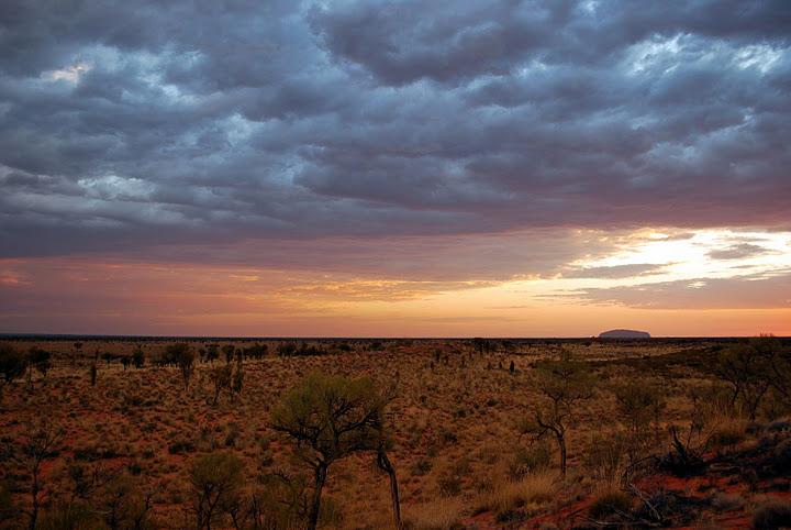 Uluru, Territoires du Nord, Australie.