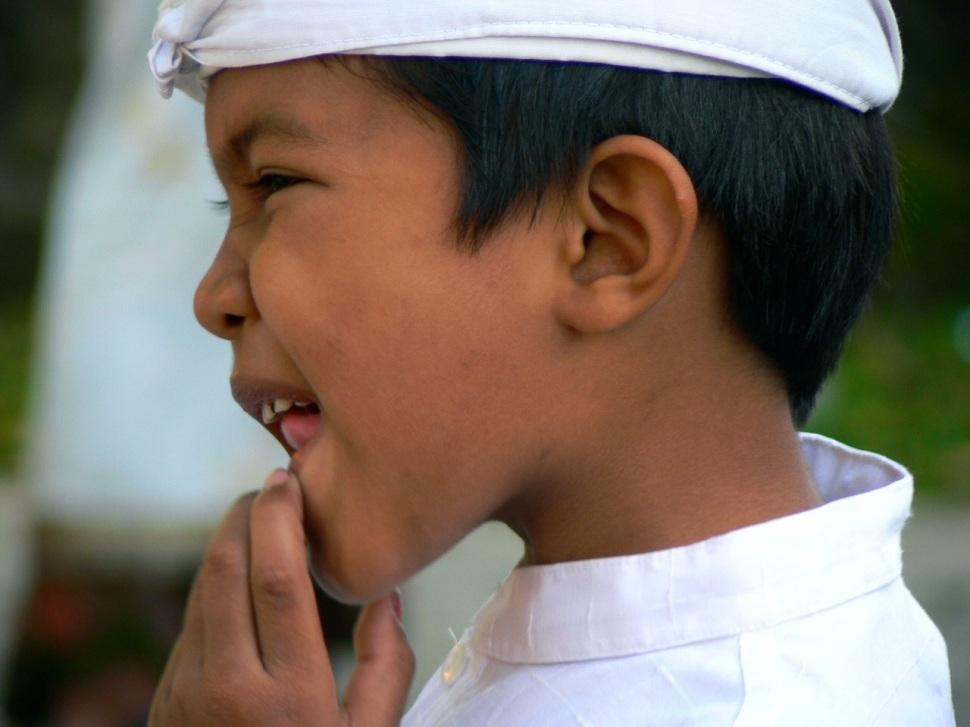 Bali visage