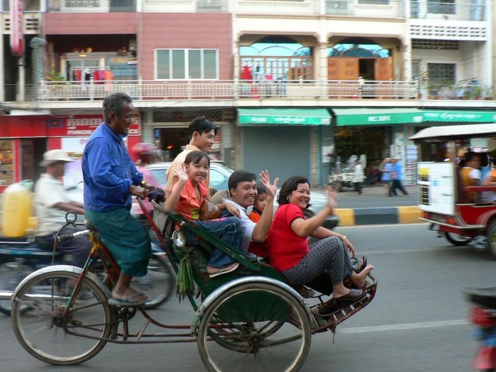 Du Cambodge au Sud du Vietnam, ou du Laos, il n'y a qu'un pas.