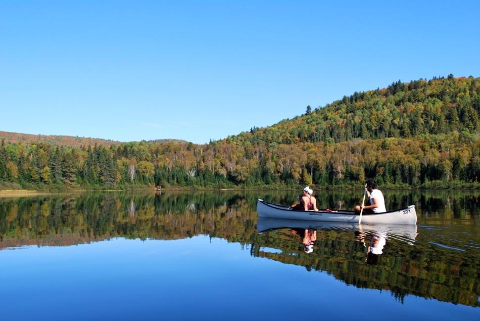 Parc National de la Mauricie, Québec.