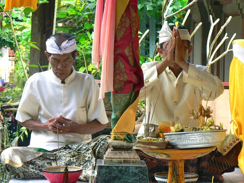 Ceremonie Bali 1