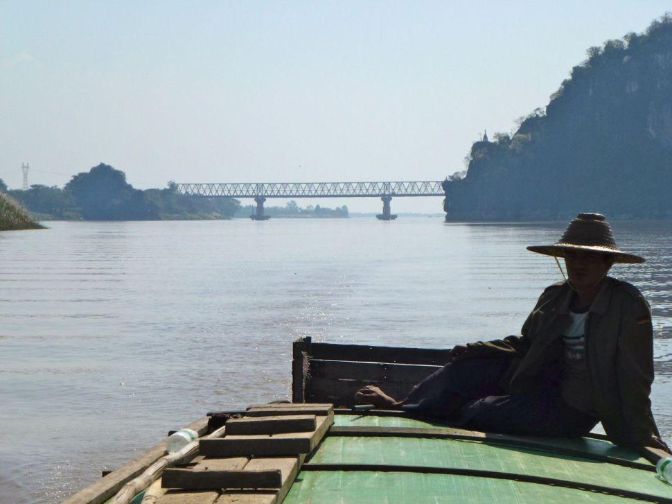Entre Moulmein et Hpa-An, Birmanie.