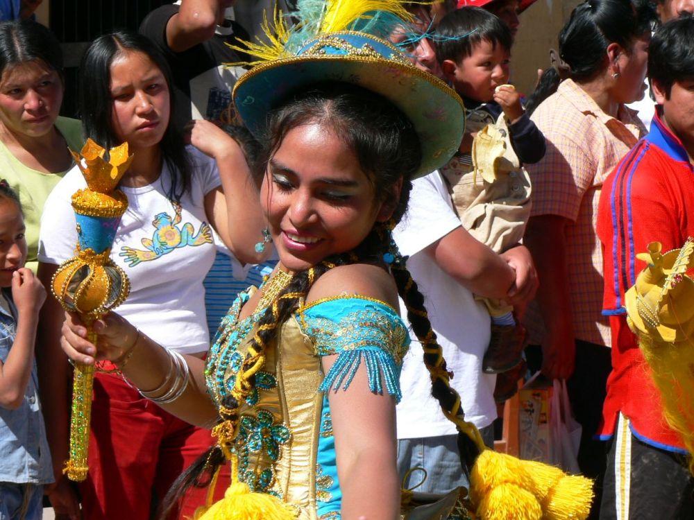Festival à Urubamba, Pérou
