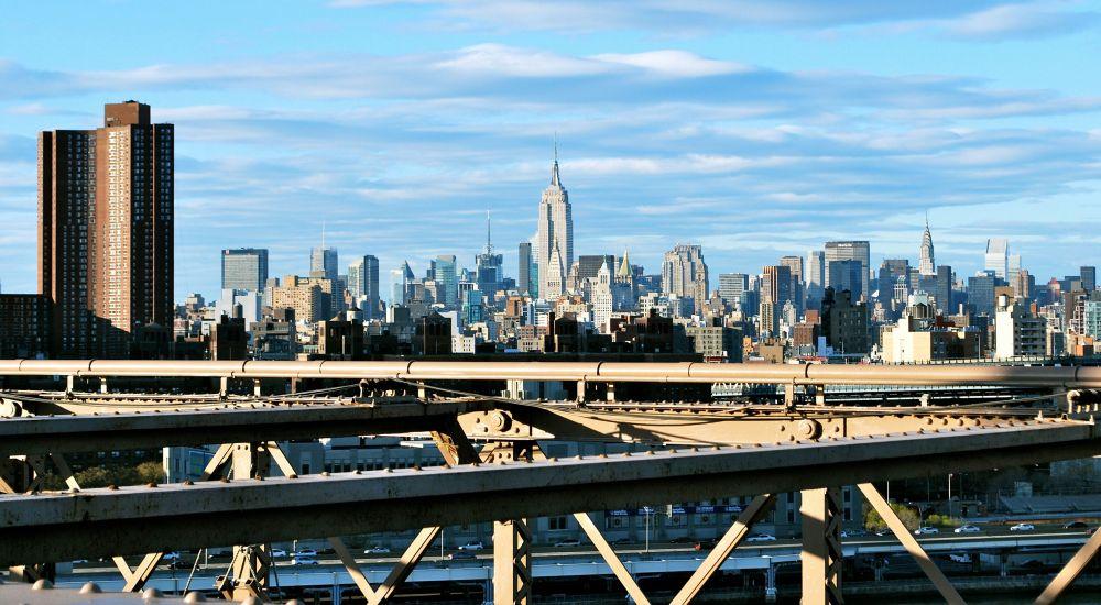 Depuis Brooklyn Bridge