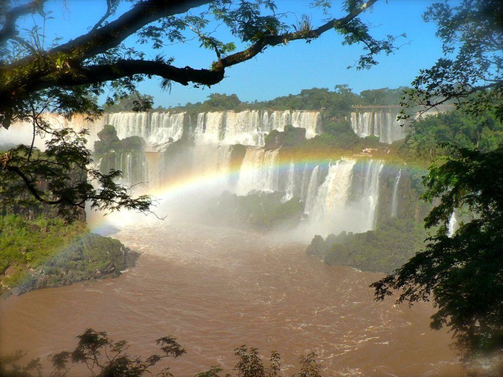 Chutes d'Iguazu, enclave tropicale à la frontière du Brésil et de l'Argentine.