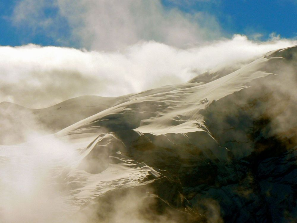 Au col de Thorong, 5 416 m