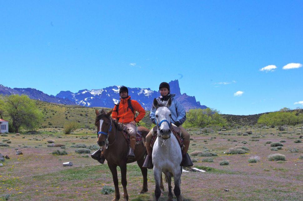 À cheval dans le Parc Torres del Paine