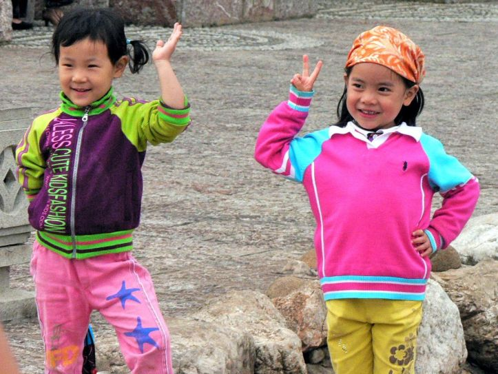 Chine enfants Lijiang