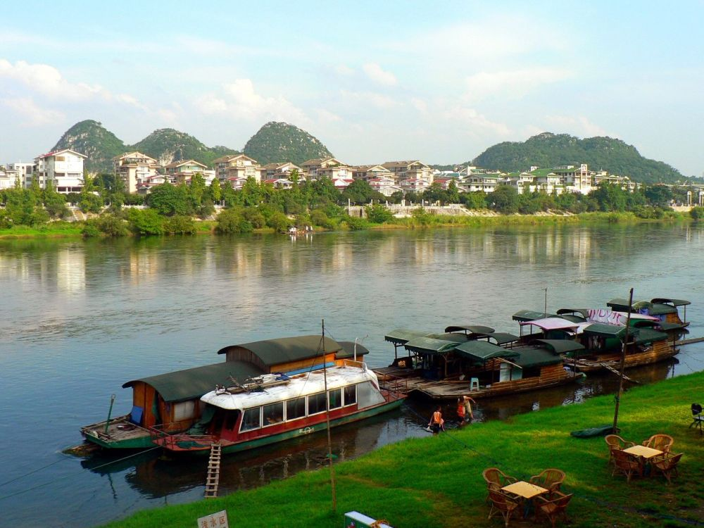 Guilin, paysage carte postale...