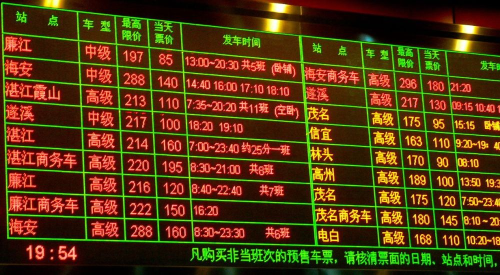 À quelle heure part mon train ?