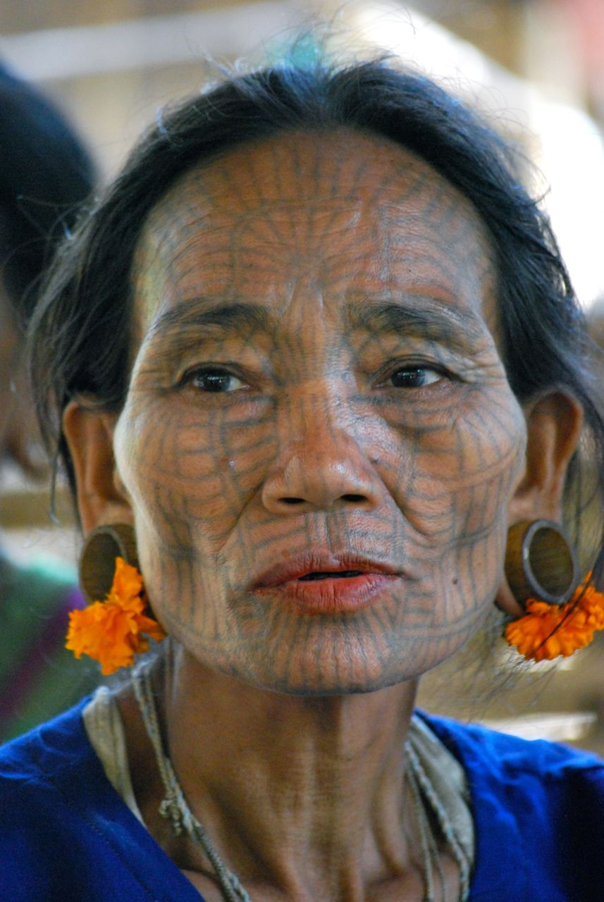 Région de Mrauk-U, Birmanie.
