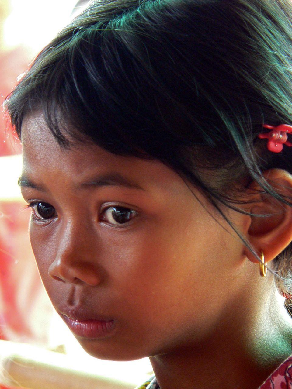 Angkor, Cambodge.
