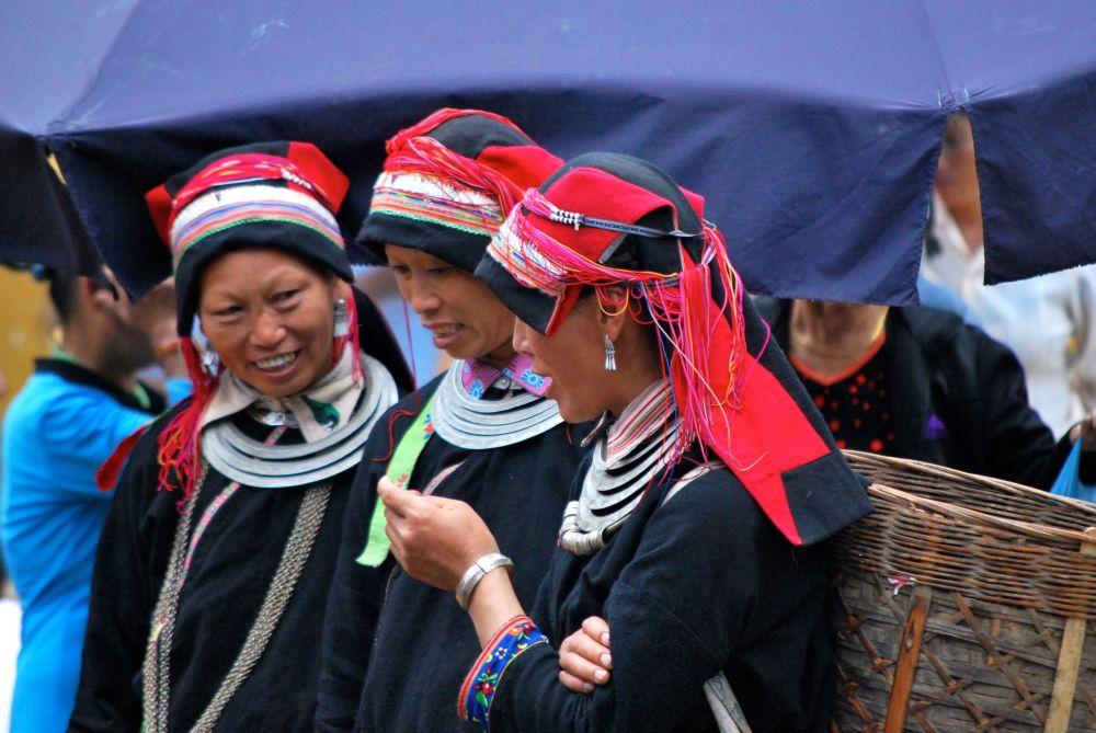 De nombreuses ethnies se côtoient sur les marchés