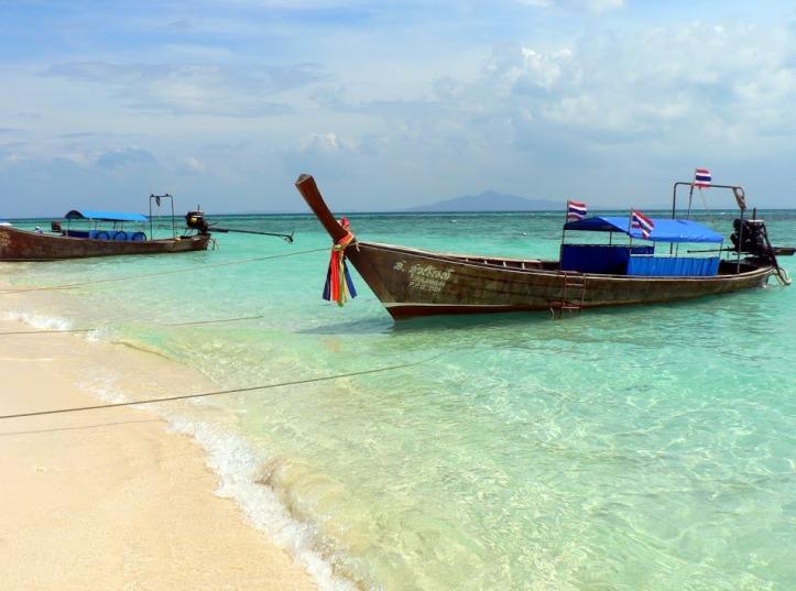 Koh Phi Phi, perle de la mer d'Andaman.