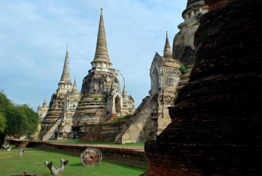 Temples d'Ayutthaya