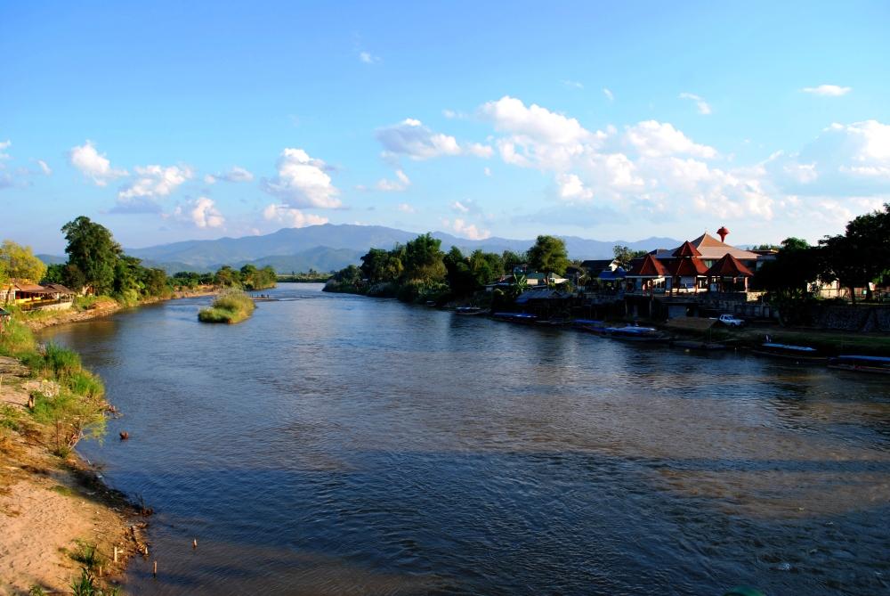 Thaton, tout au nord, entre Chiang Mai et Chiang Rai.