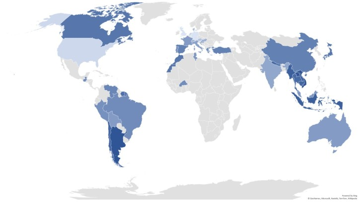 Countries ranking 2